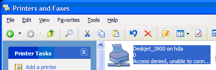 Adding an HDA networked printer - Amahi Wiki