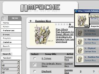 Ampache for Amahi