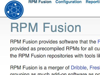 RPM Fusion (Non-Free) Repo