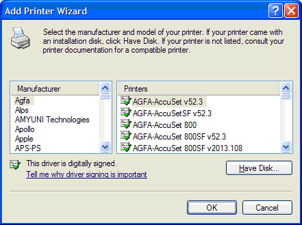 Once You Install The Driver Can Check Printers And Faxes To See If It Is Installed Although Says Access Denied Unable Connect