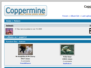 powered by coppermine photo gallery