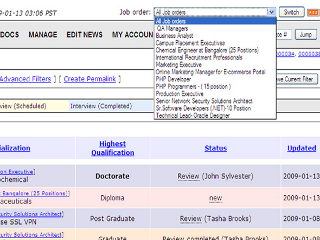 candidate tracking systems